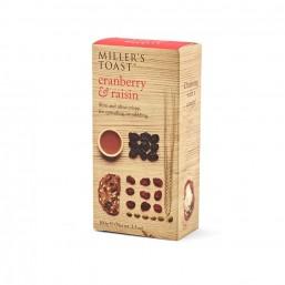 CRANBERRY RAISIN MILLER'S TOAST