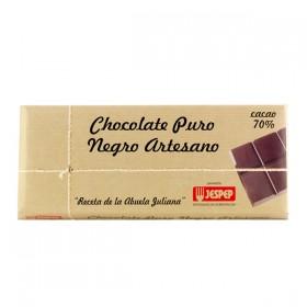 CHOCOLATE NEGRO PURO JESPED