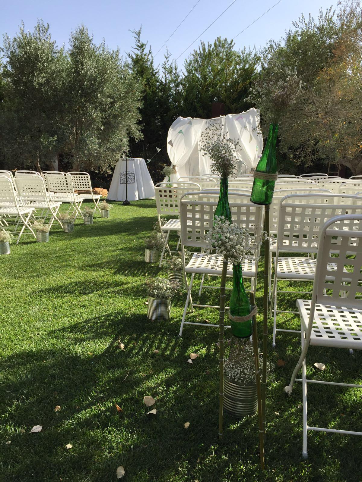 Una boda vintage en los salones de los chopos la gineta for Jardines de soraya