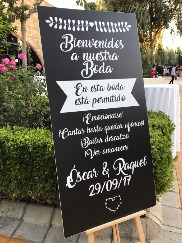 Una boda con cetrería