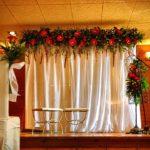 En la boda, al mal tiempo, soluciones felices