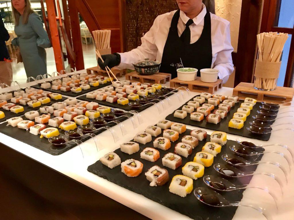 Mesas buffet para bodas