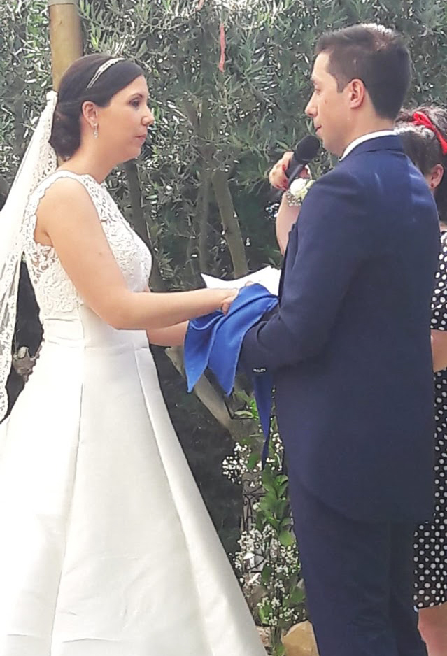 una boda muy especial cogidos