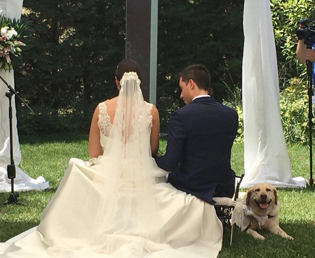 una boda muy especial espaldas