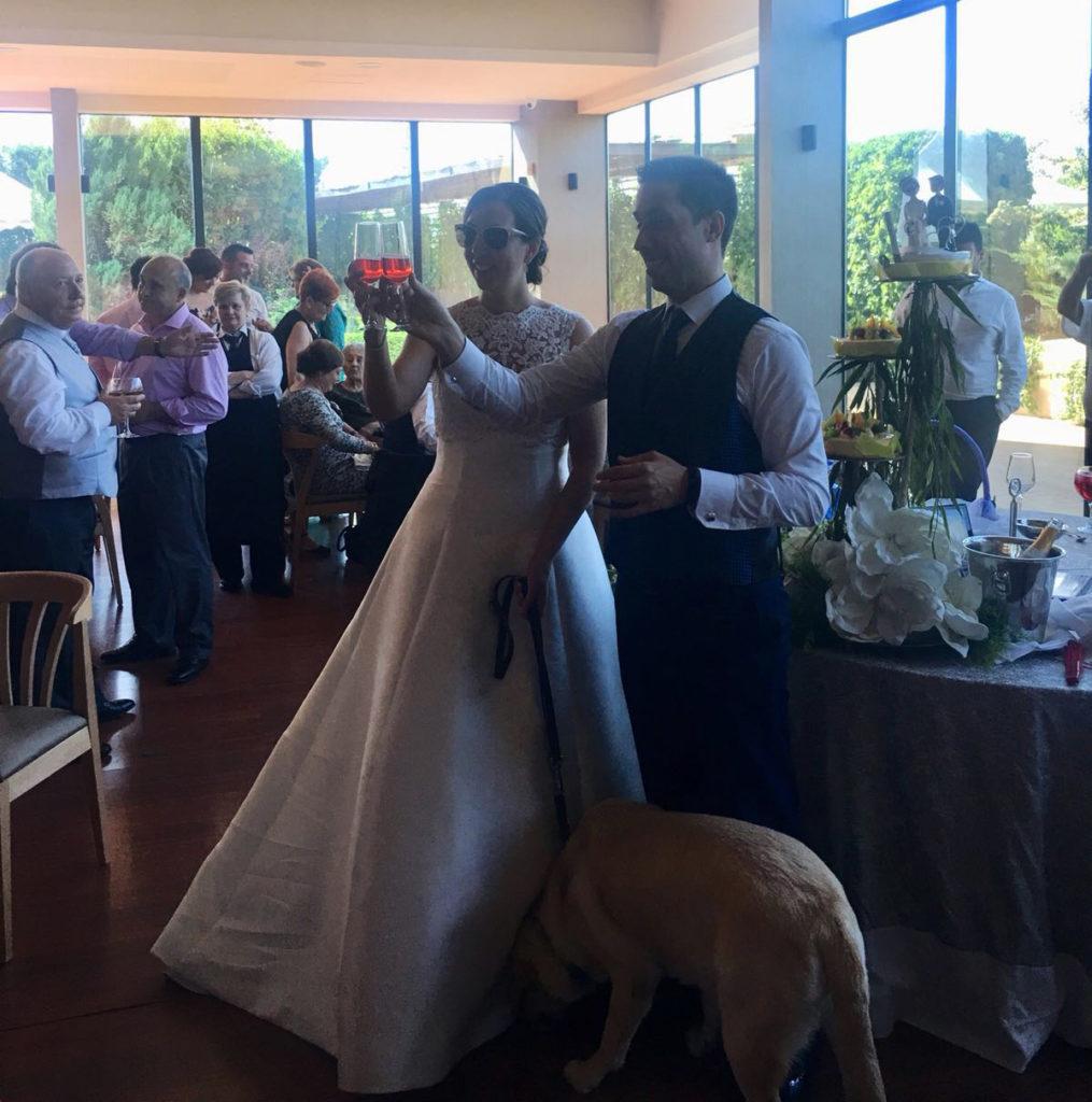 una boda muy especial brindis