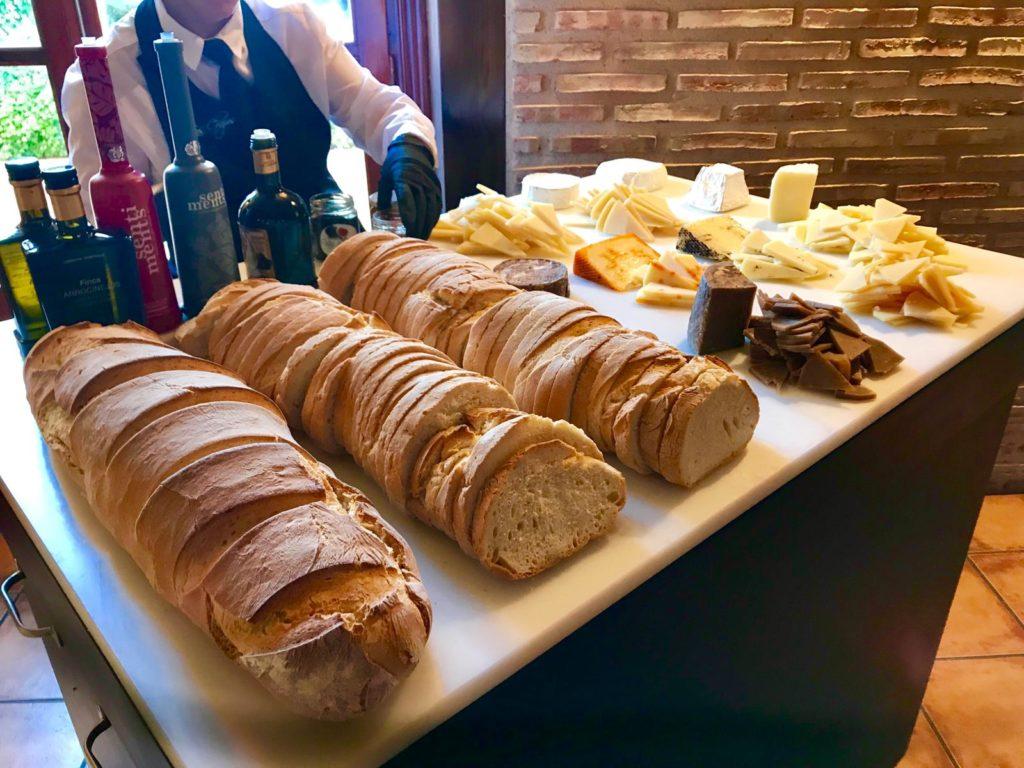 boda otoñal pan