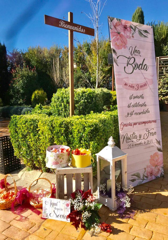 boda otoñal bienvenida