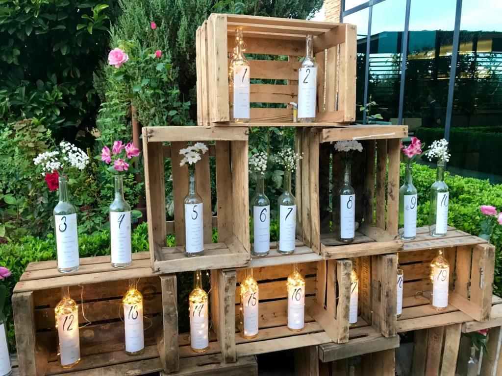 seating plan maravillosos botellas