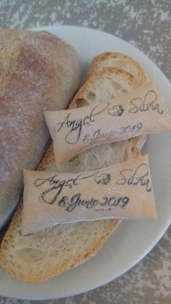 boda muy especial pan soplao