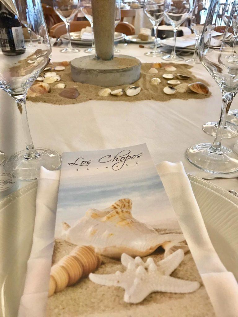 boda mallorquina mesa