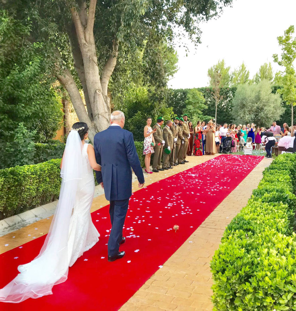 entrada nupcial novia