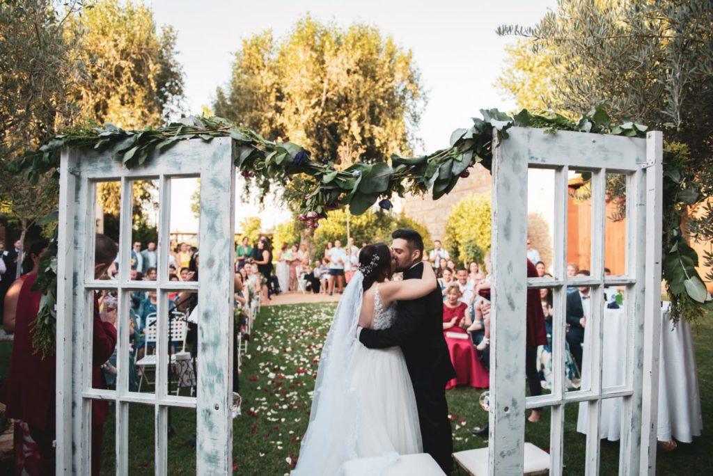 detalles de boda arco