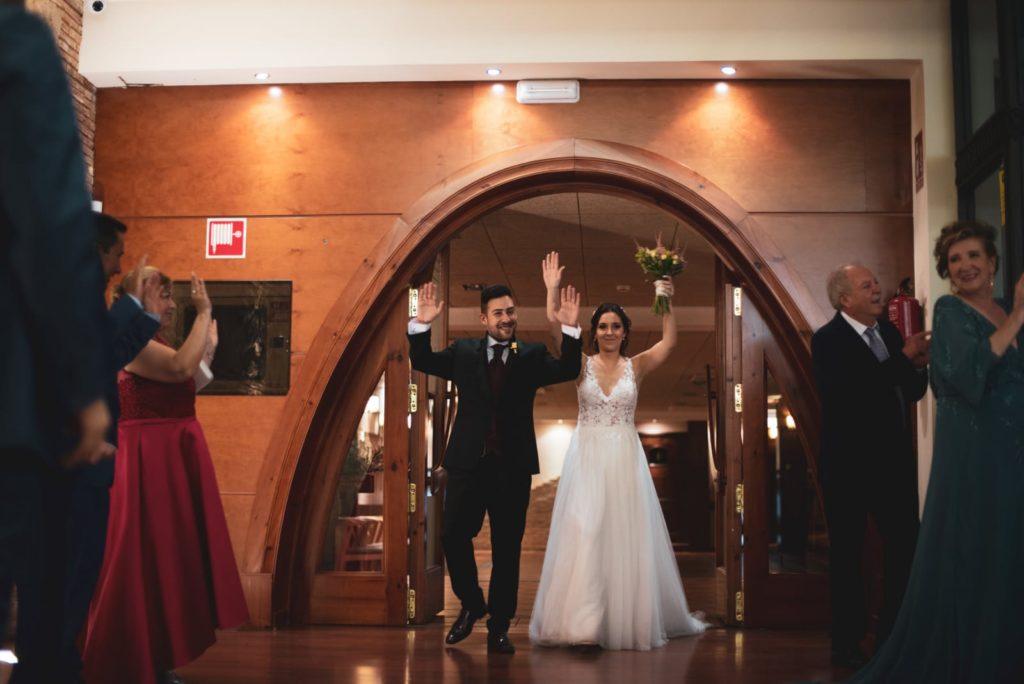 detalles de boda entrada