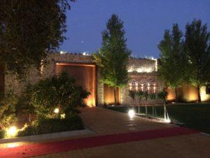 jardines de boda en Albacete nocturna dos
