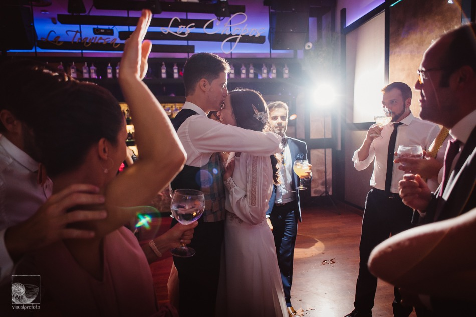 boda llena de romanticismo baile