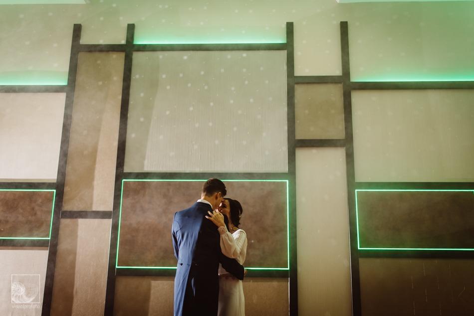 boda llena de romanticismo beso baile