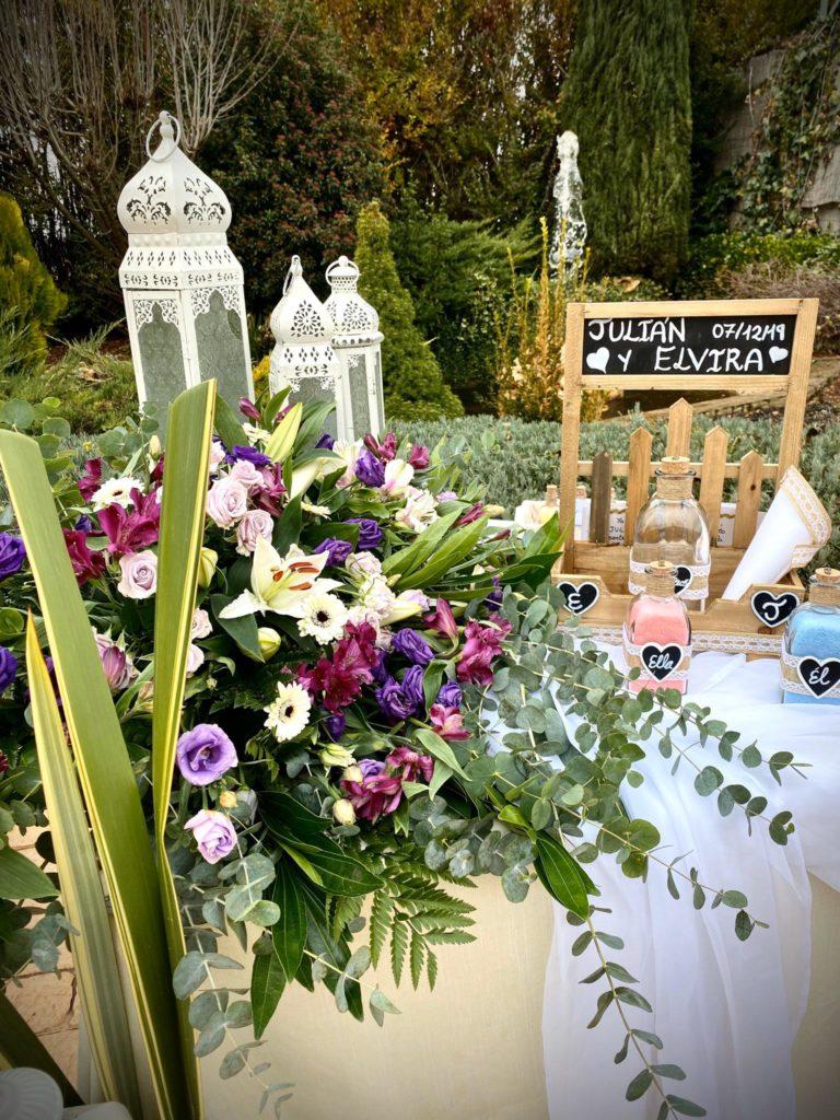 una boda llena de emociones jardines