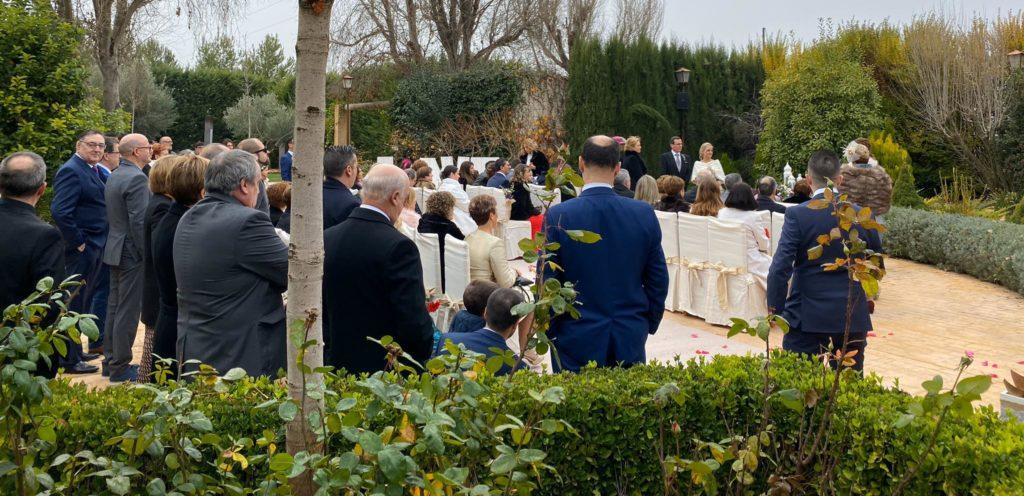 boda cargada de emociones en los chopos
