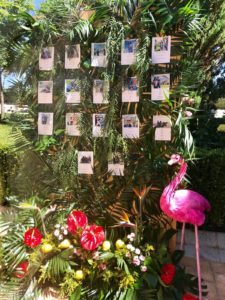 flores de boda seating plan