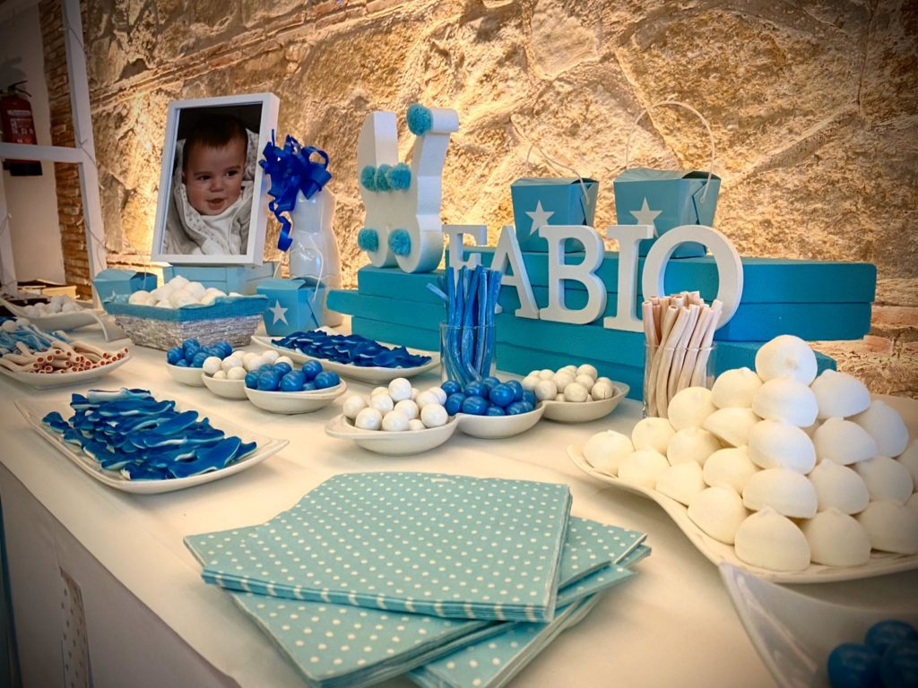 boda y bautizo mesa chuches