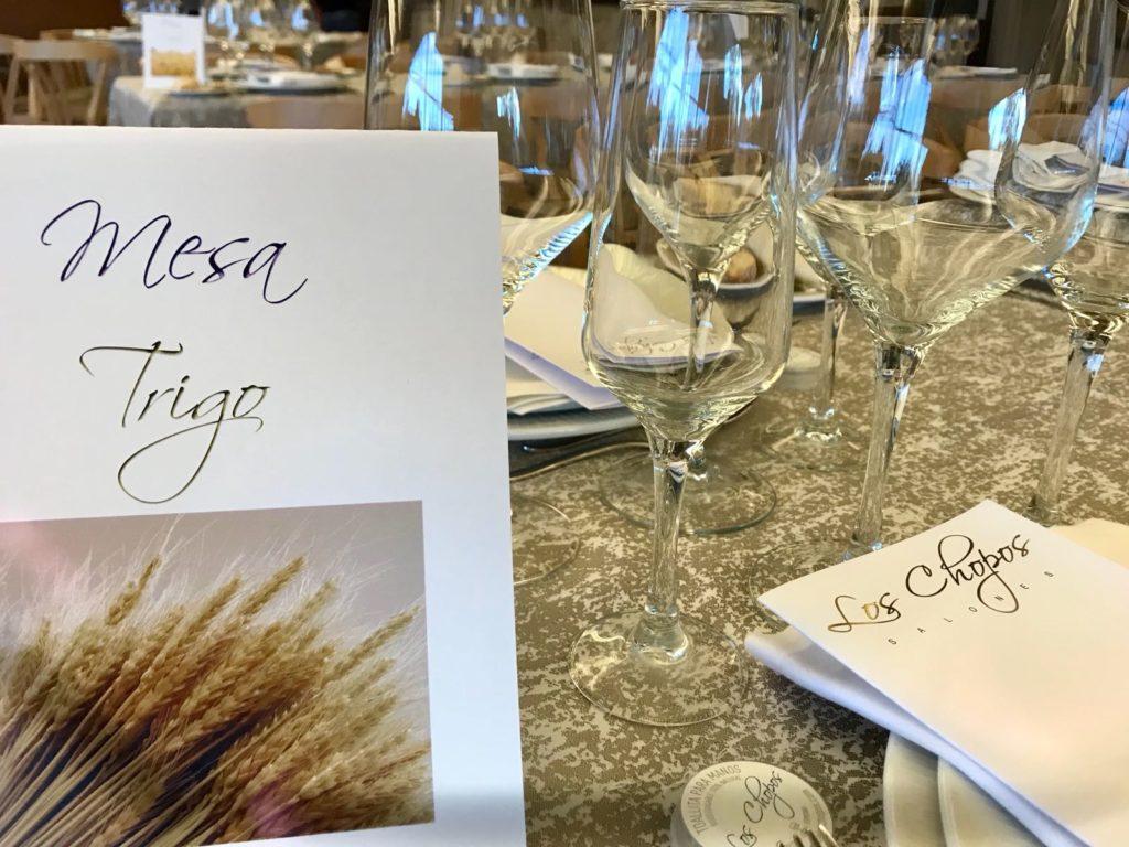 decoración en bodas mesas
