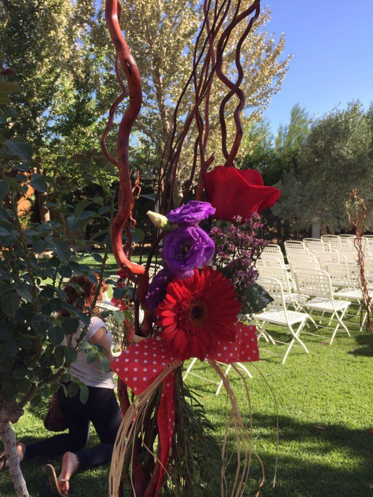 una boda con un toque andaluz
