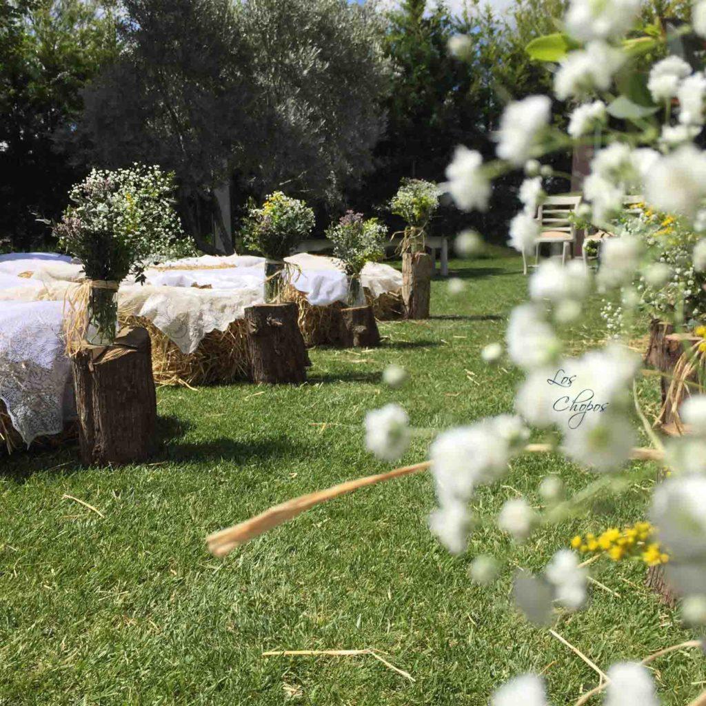una boda muy rural flores silvestres