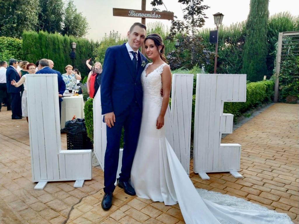 una boda con aire mallorquín