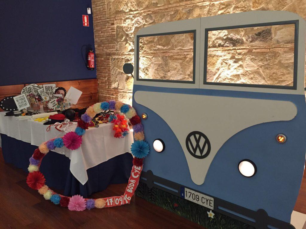 una boda con identidad tren