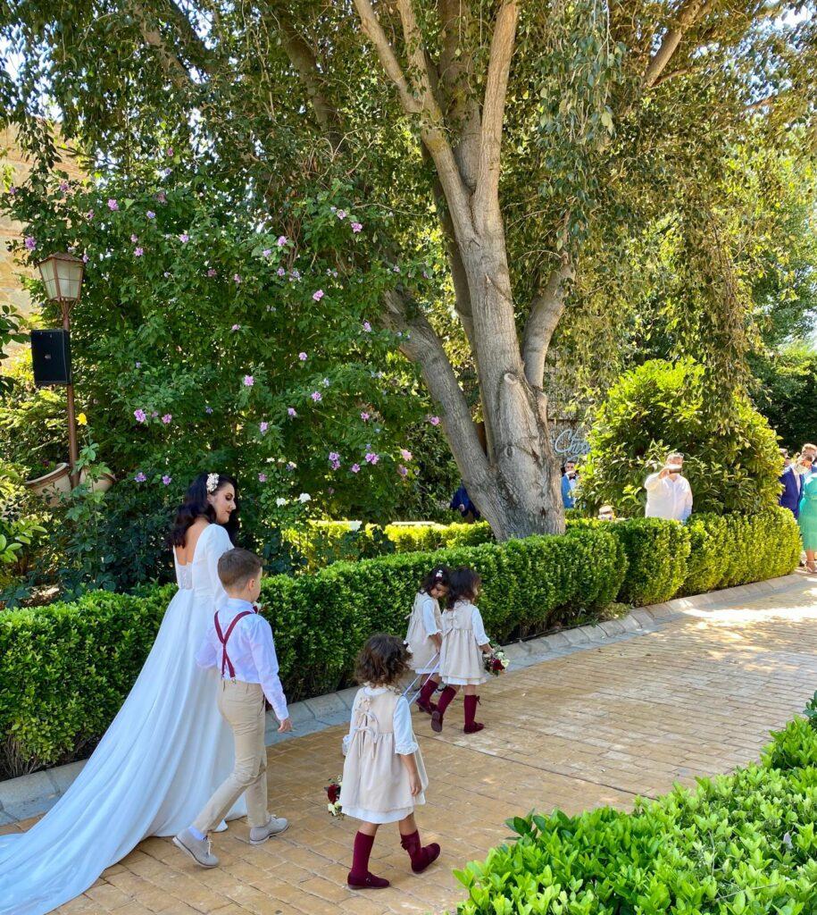 preciosa novia en las bodas en la nueva normalidad