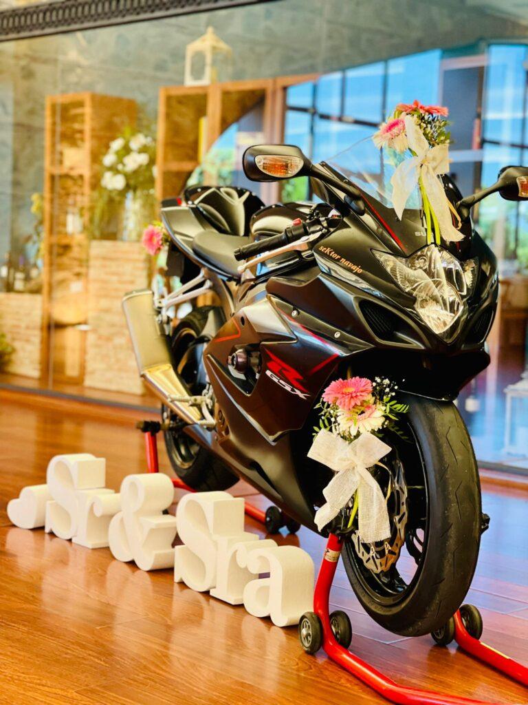boda a todo gas