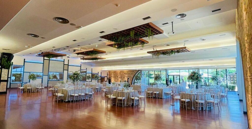 salón boda romántica