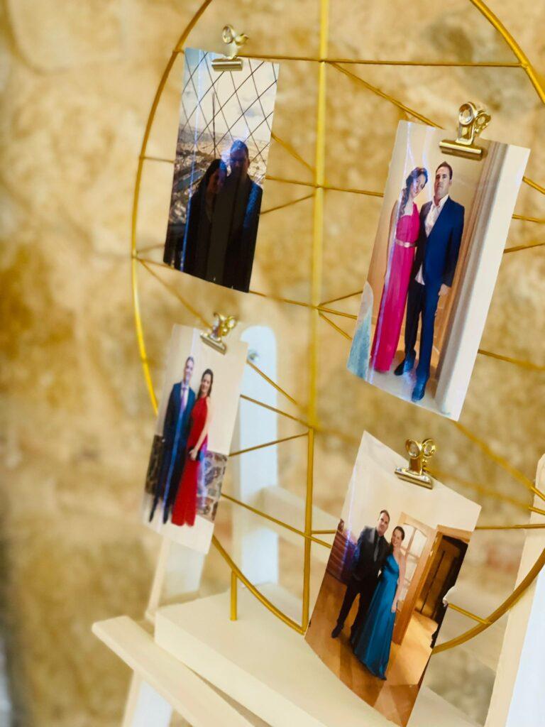 fotos personales en la boda