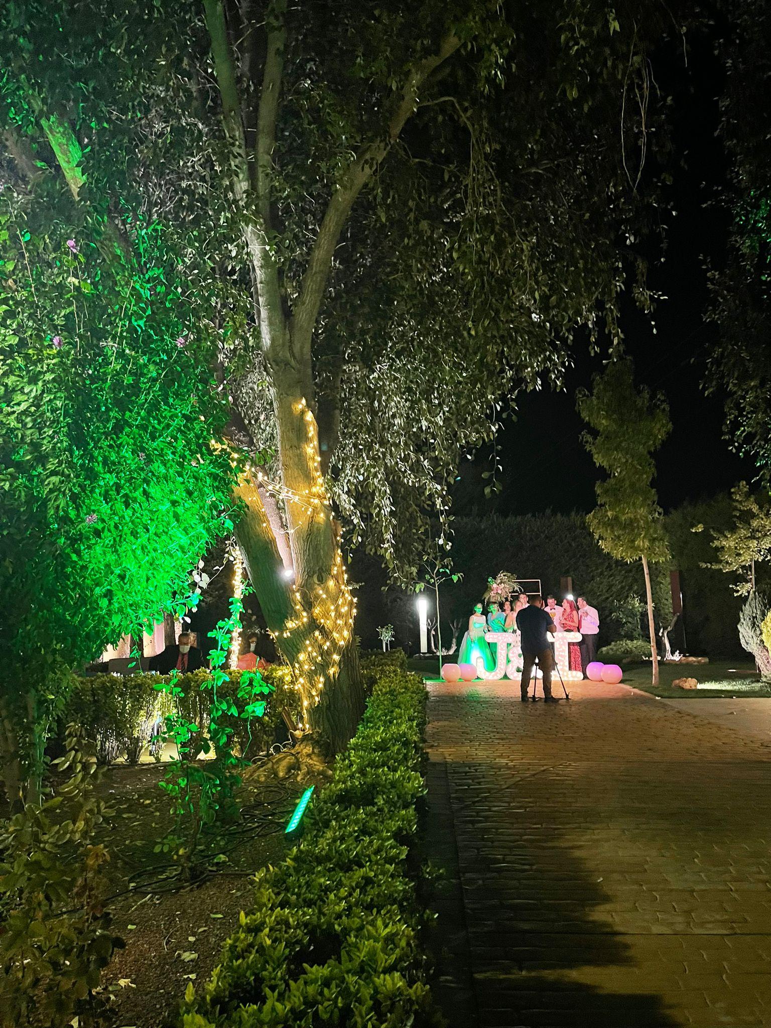 luz y color en la boda